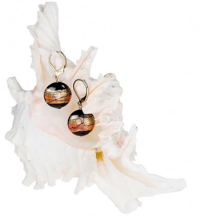 396 nausnice mystery z lampovych perel lampglas