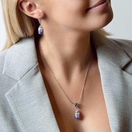 Dámský náhrdelník Vivienne z lampových perel Lampglas