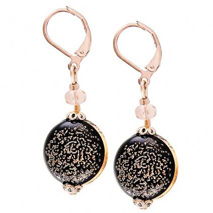 Překrásné náušnice Be Original z perel Lampglas