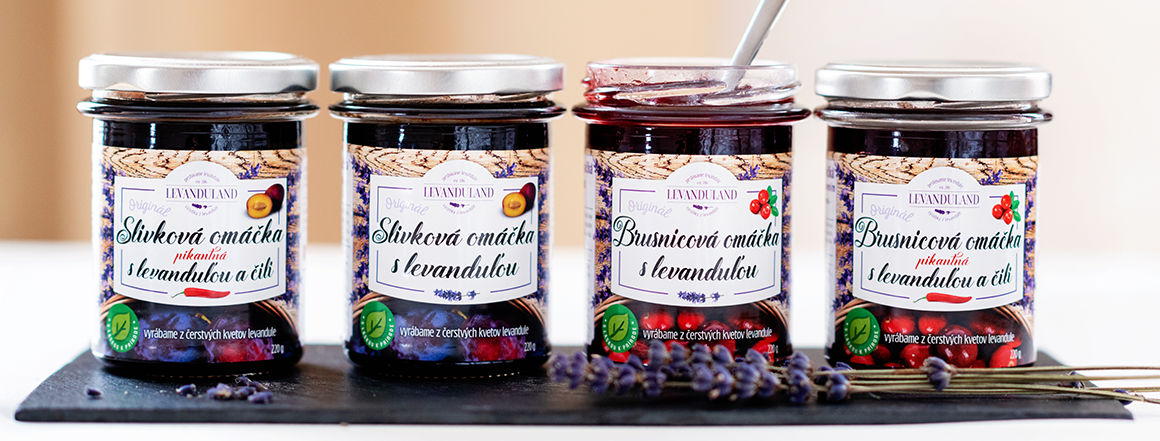Ochutnajte naše levanduľové omáčky