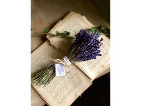 Sušená levanduľová kytička