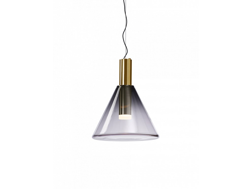 phenomena pendant grey gold