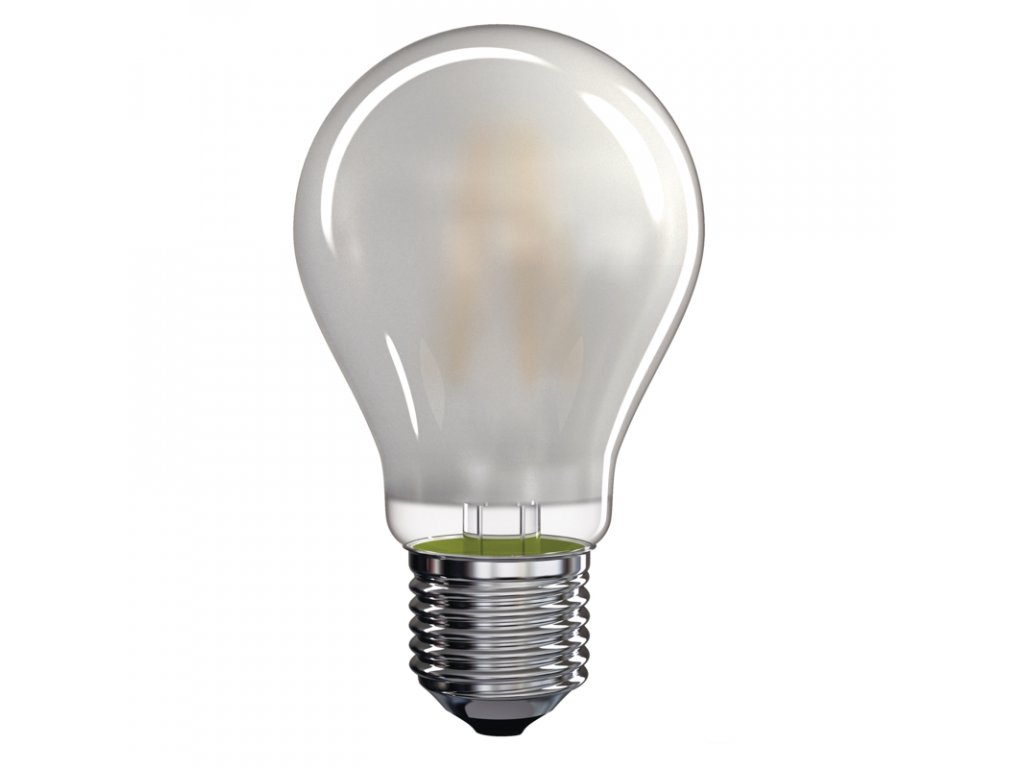 LED žárovka Filament matná 6,5W E27 2700K