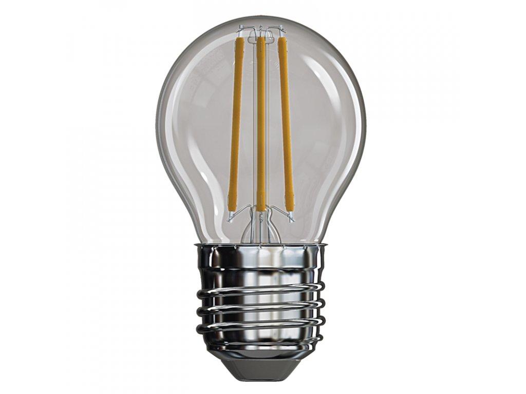 LED žárovka Filament Mini Globe 4W E27 2700K