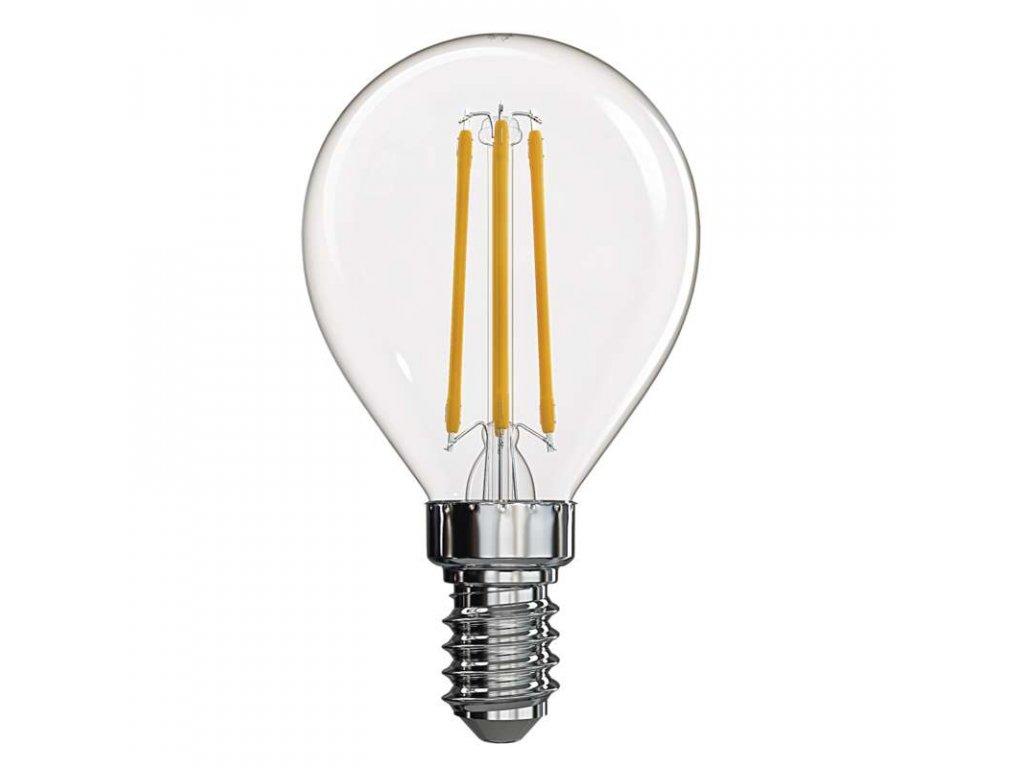 LED žárovka Filament Mini Globe 4W E14 2700K
