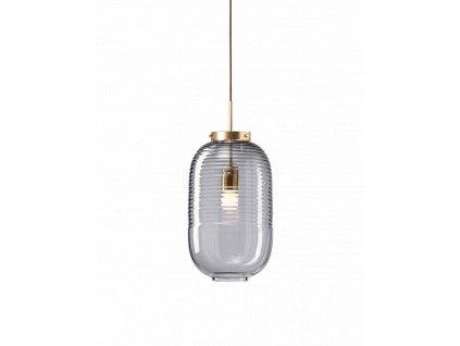lantern smoke patina brass