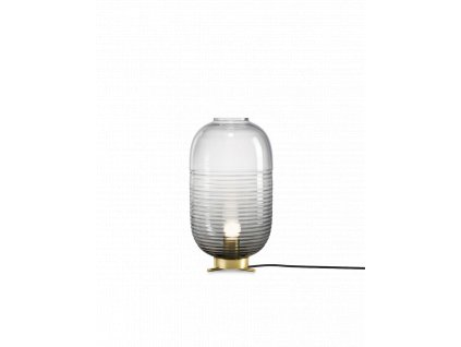 lantern table smoke light patina brass
