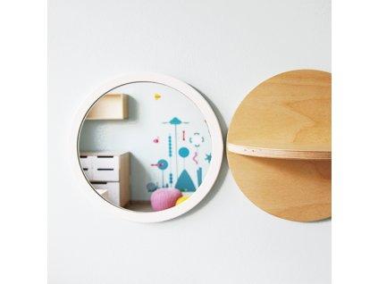 Zrcatko na stenu i panel