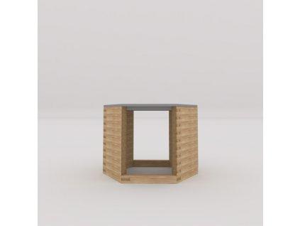 stolek s volnými boky