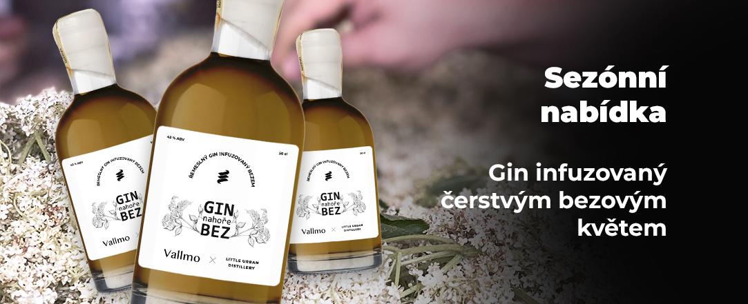 Gin nahoře Bez