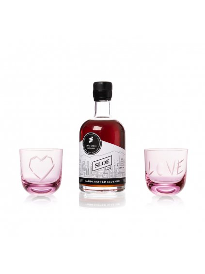 little urban sloe gin web valentine