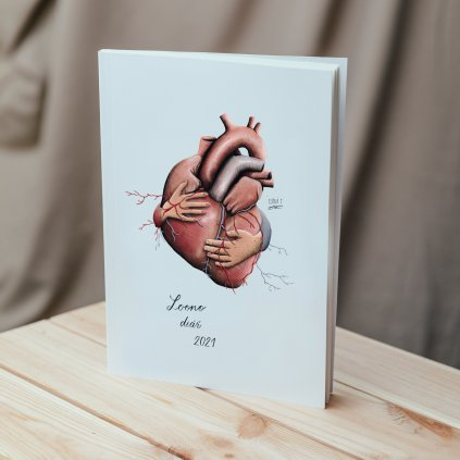 Loono Diar Eliska Srdce Mockup