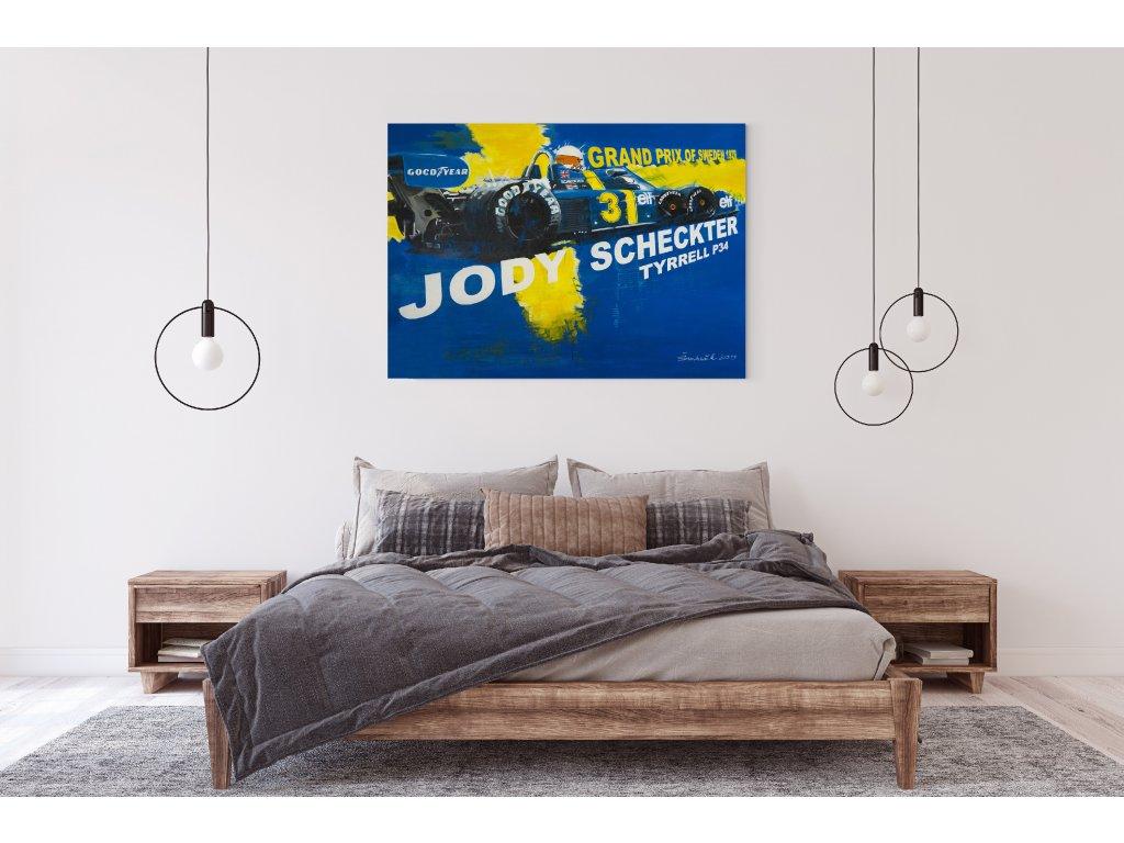 Obraz Lusso Legends Jody Scheckter Tyrrell P34 produkt 2