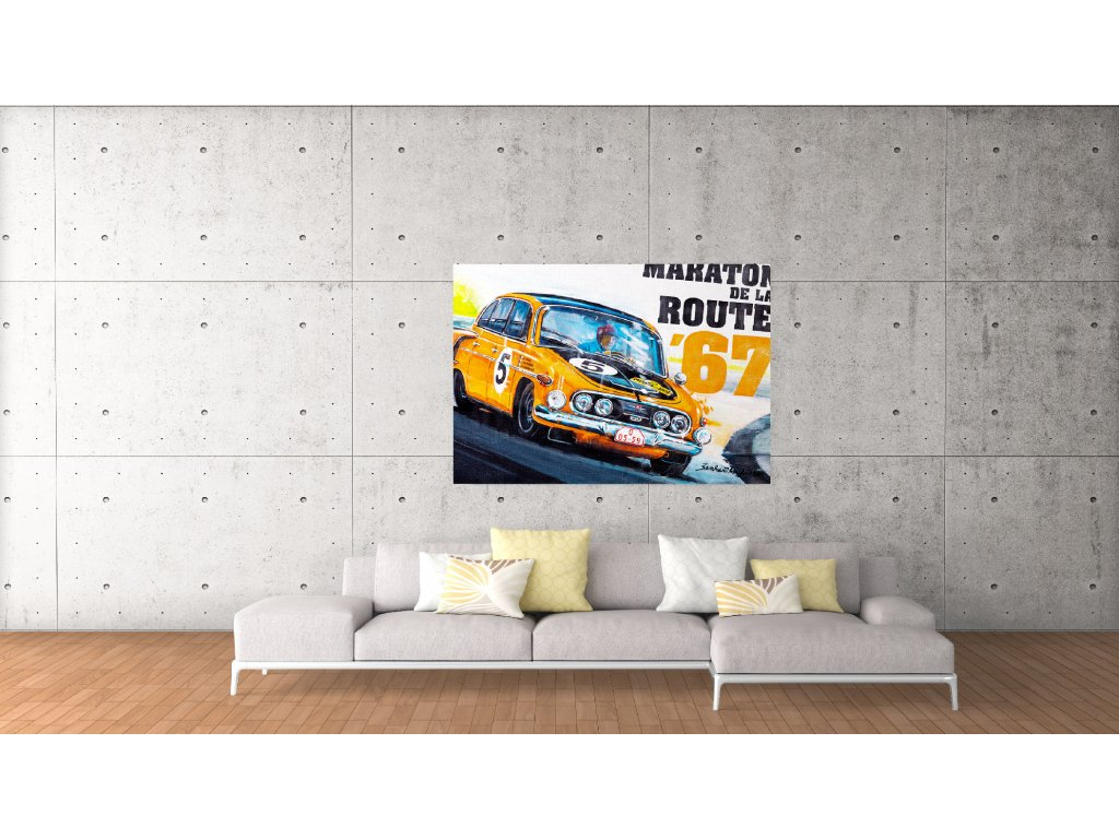 Obraz.Lusso Legends Tatra 603 Maraton de la Route 1967
