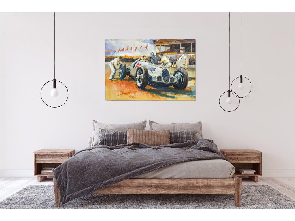 Obraz Lusso Legends Rudi Caracciola produkt 1