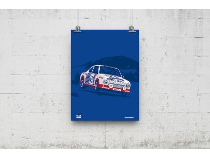 Poster Lusso Legends Skoda 130 RS