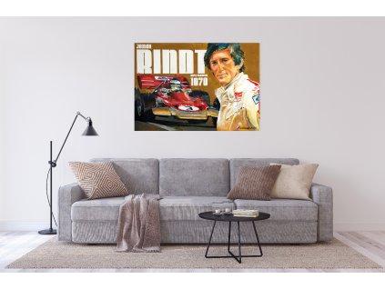Obraz Lusso Legends Jochen Mistr Světa F1 1970