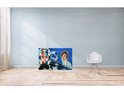 Obraz Lusso Legends Francois Cevert produkt 1