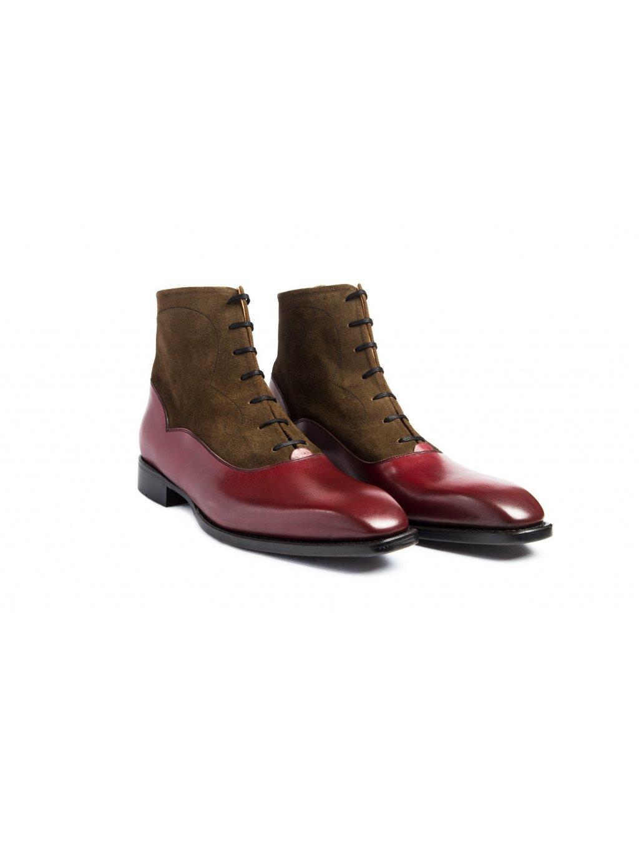 Boty boots bordeaux