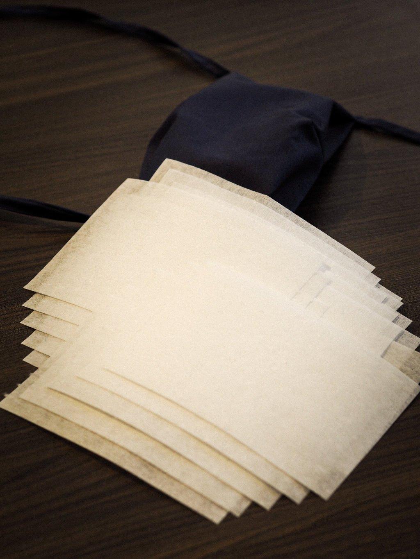 Filtr z netkané textilie 50ks
