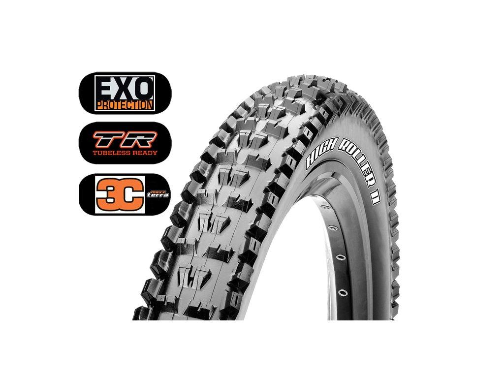 Plášť MAXXIS High Roller II 27.5x2.30 kevlar EXO TR 3C Maxx Terra