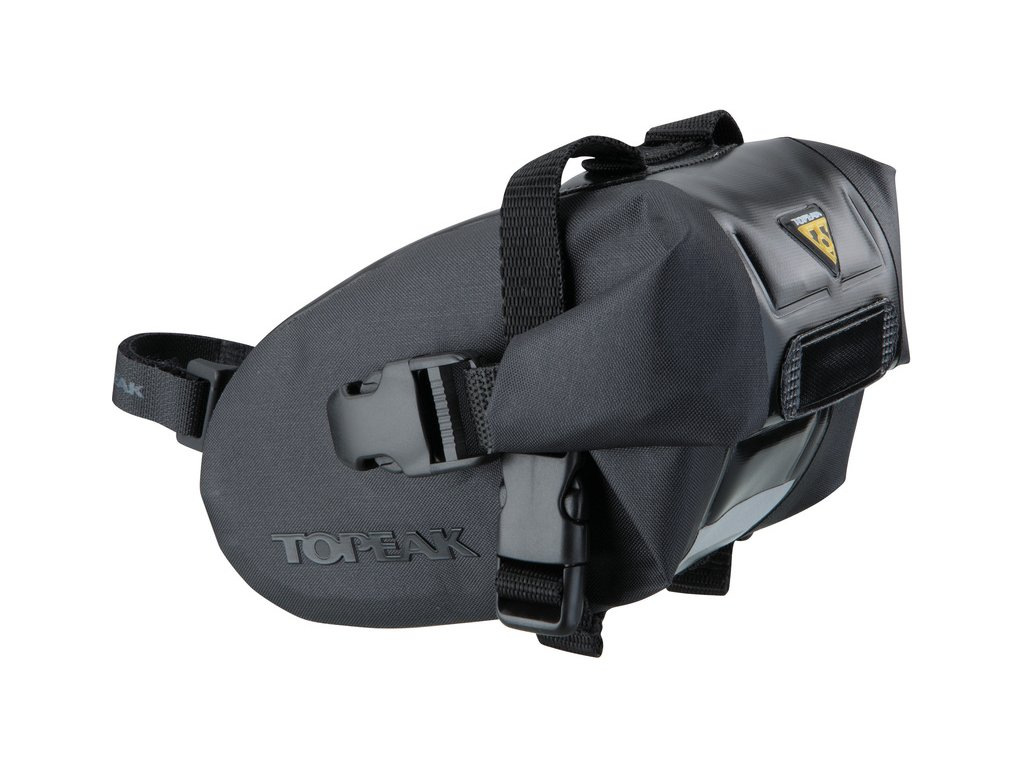 Taška podsedlová Topeak WEDGE DRY BAG Small čierna, popruh