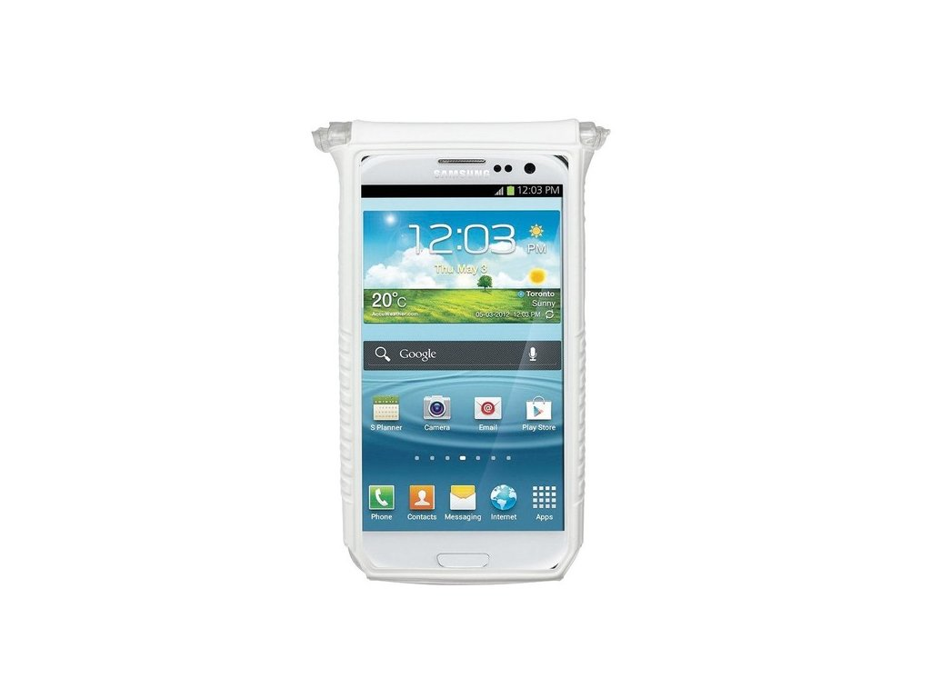 "Puzdro Topeak SMART PHONE DRY BAG 4 (3""- 4"") biele"