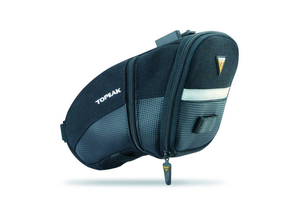 Taška podsedlová Topeak AERO WEDGE PACK, Large + Quick Click
