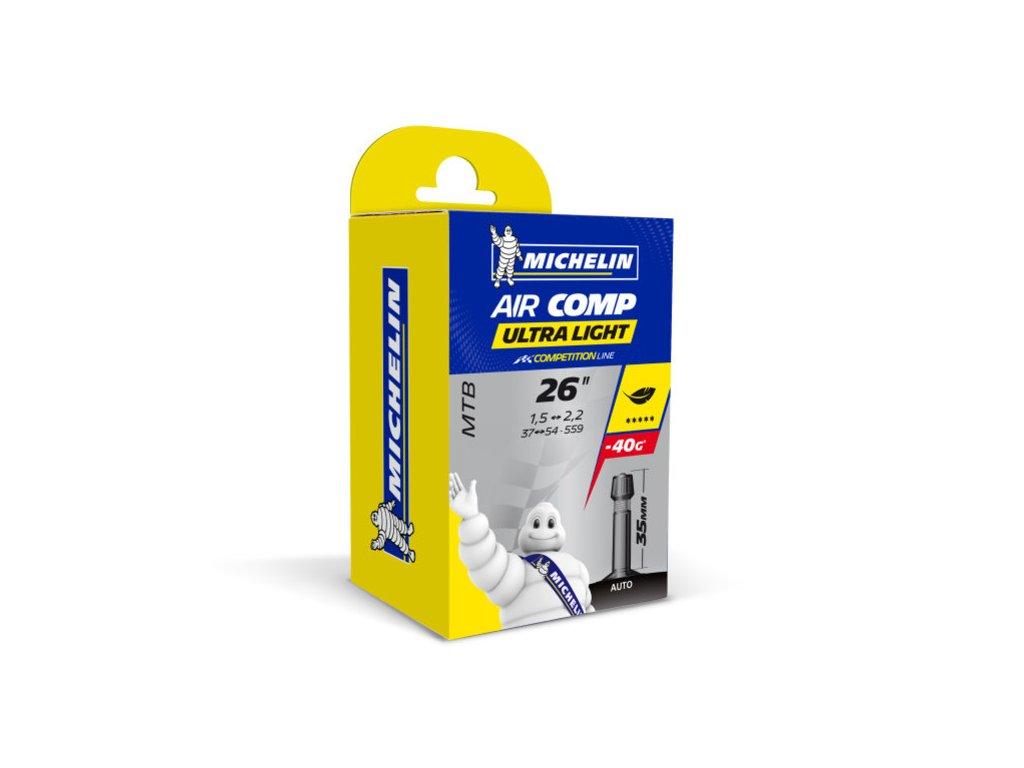 Duša Michelin Aircomp Ultralight 26 x 1,50-2,20 AV35