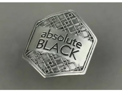 absoluteBLACK aB kovová nálepka
