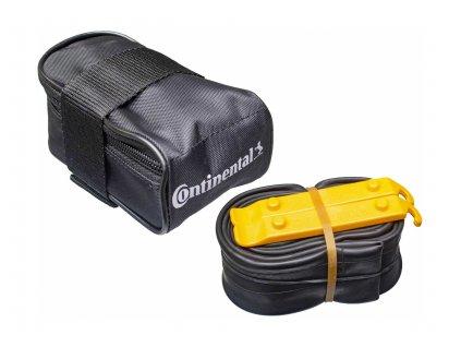 "Kapsička pod sedlo/ Tube bag with MTB 27.5 tube FV42 and 2 tire levers MTB 27,5"""