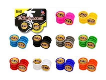 Záslepky / Koncovky štuple farebné / Bar plugs