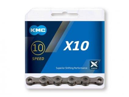 Reťaz KMC X10 (10-speed) 114 článkov