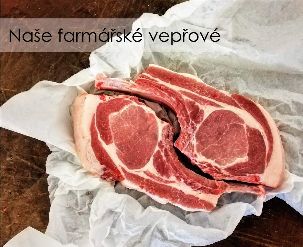 Naše farmářské vepřové maso