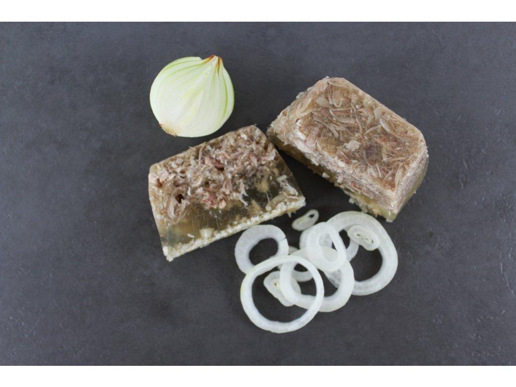 Domácí sulc - huspenina (balení řeznický papír/sáček)