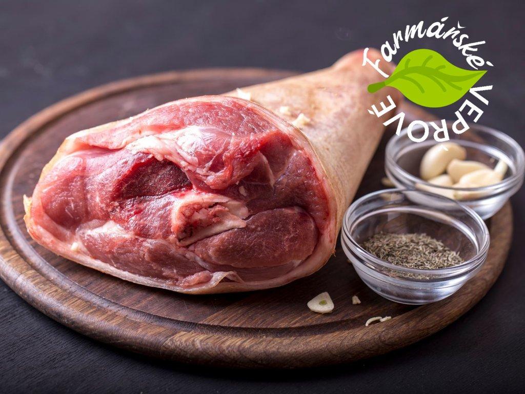 veprove maso farmarske koleno s kosti