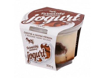 jogurt cokolada