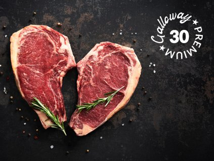 maso galloway rib eye steak 30
