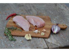 kuře loužná kuřecí prsa