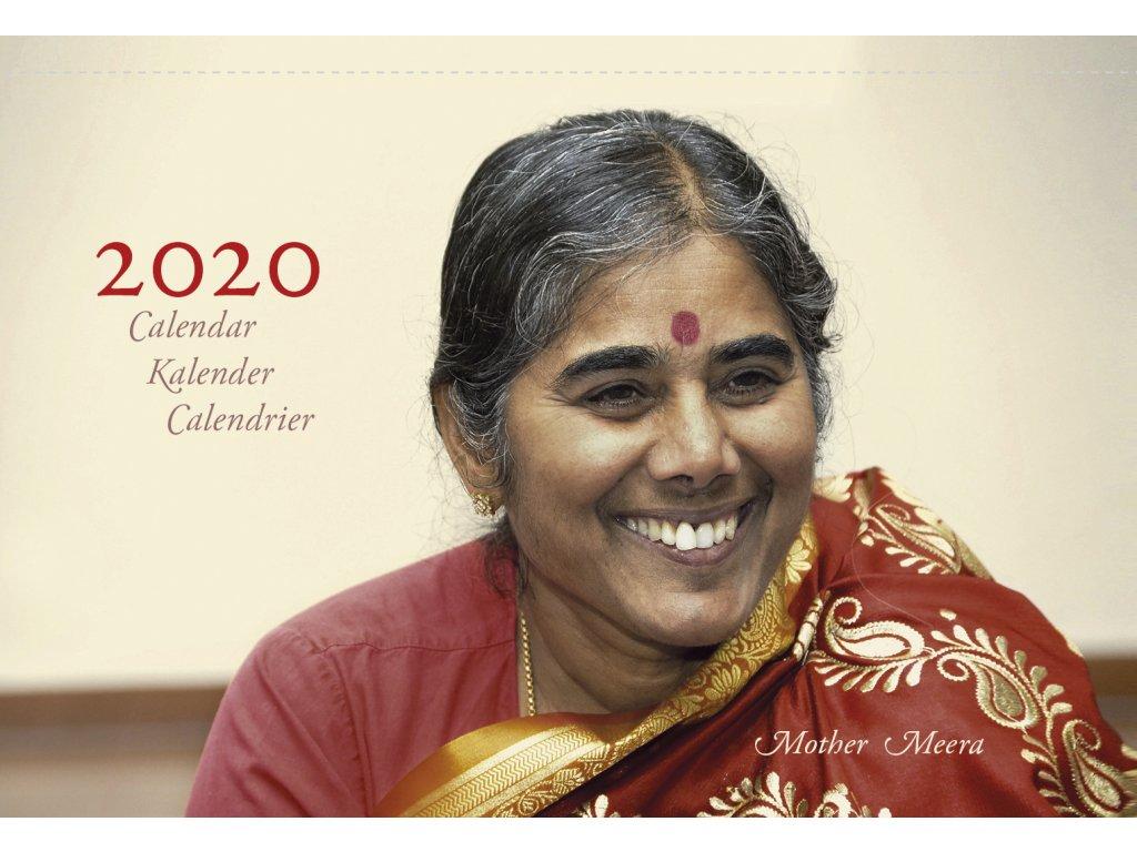 Table calendar 2020 cover