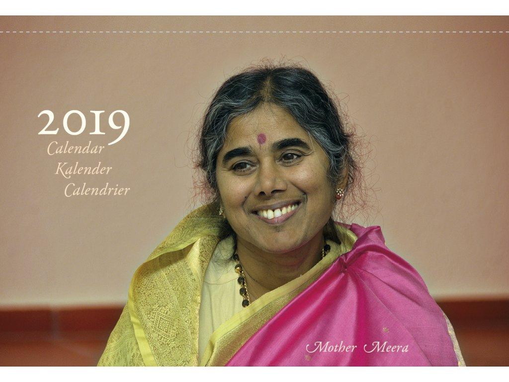 Table calendar 2019 cover