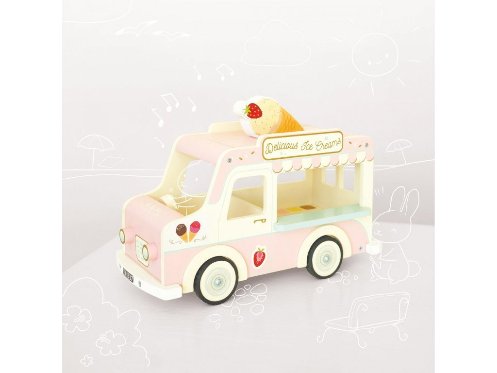 ME083 Dolly Ice Cream Van 16