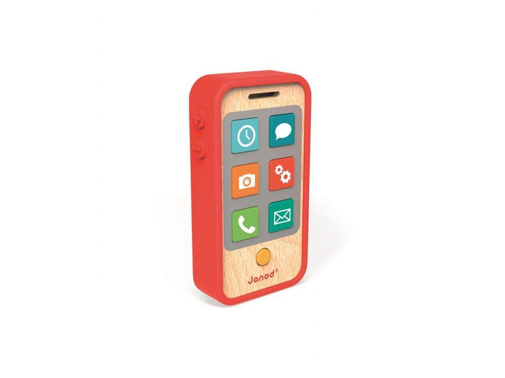 J05334 Detsky dreveny mobil so zvukmi Janod od 1 roka a