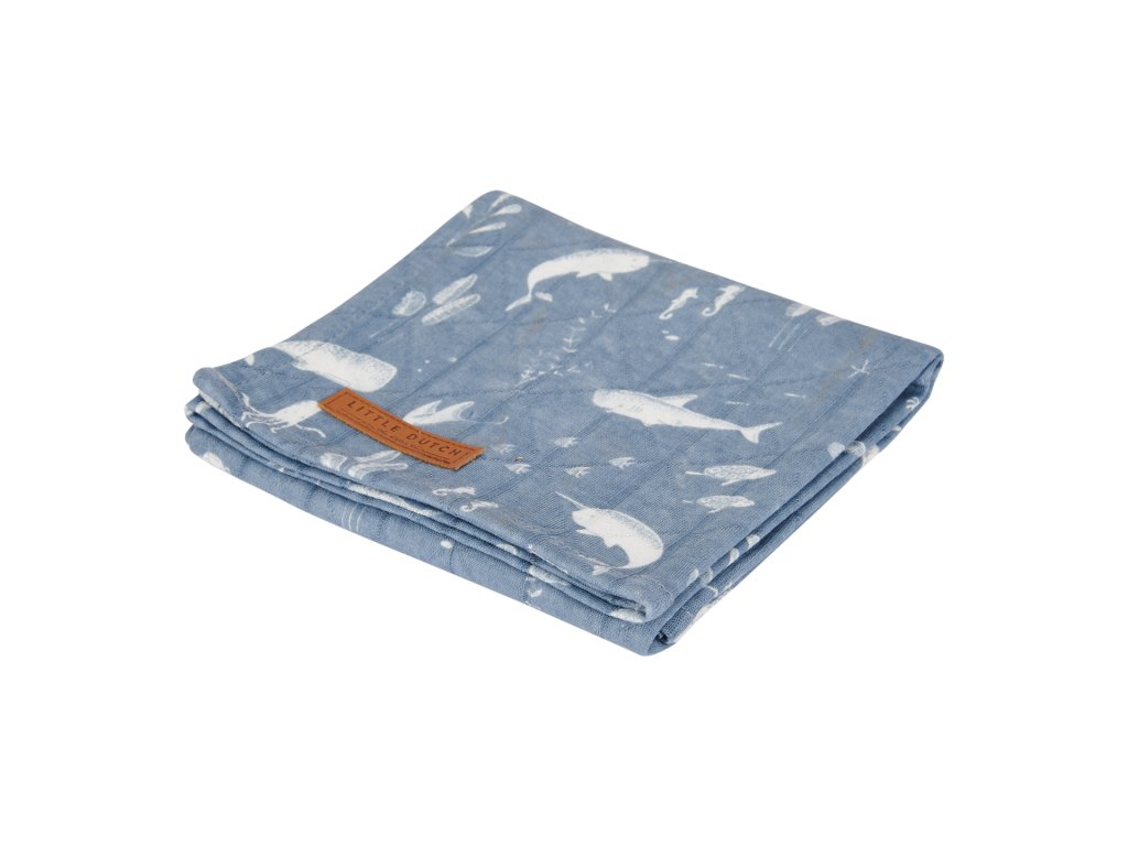 0003092 little dutch swaddle doek 120 x 120 ocean blue 0.jpg