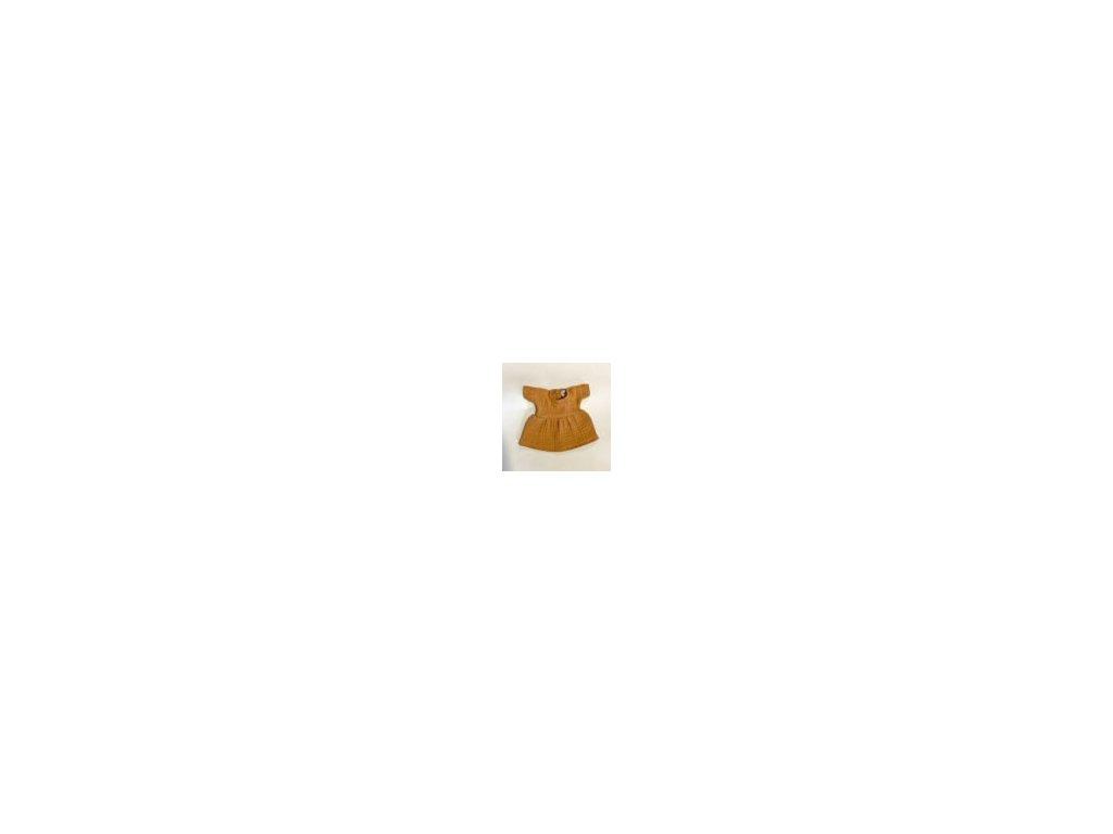 Minikane oblečení Šaty Faustine camel
