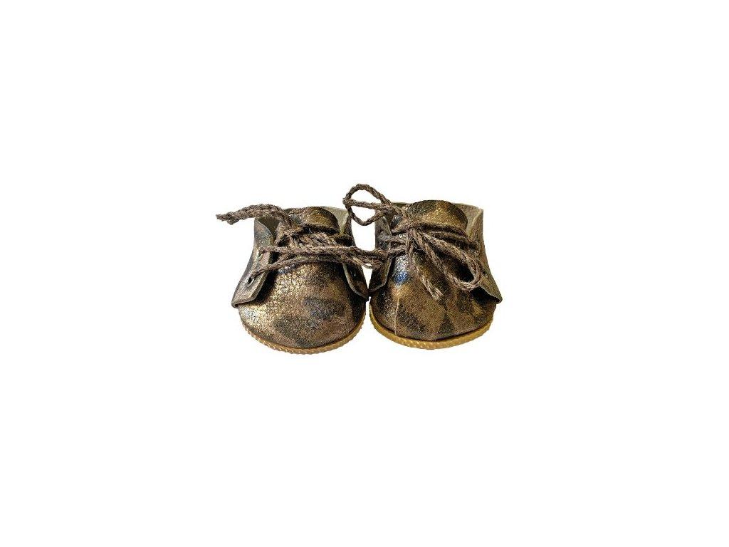 chaussure a lacets jaguar mordore