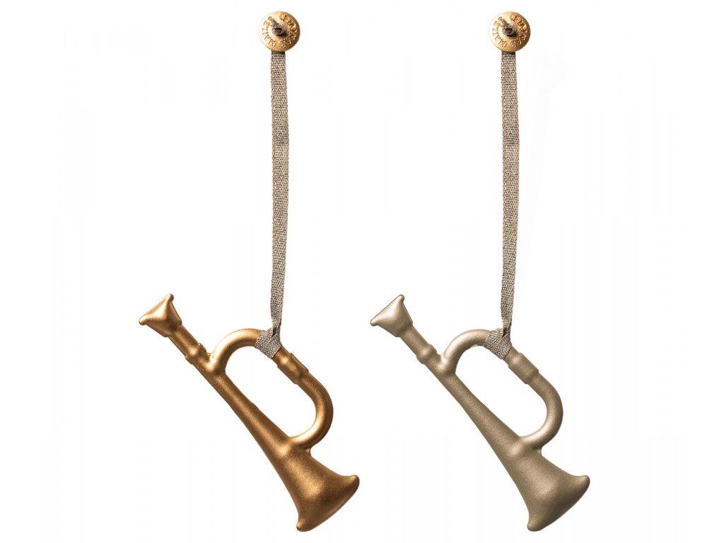 Maileg ozdoby trumpeta