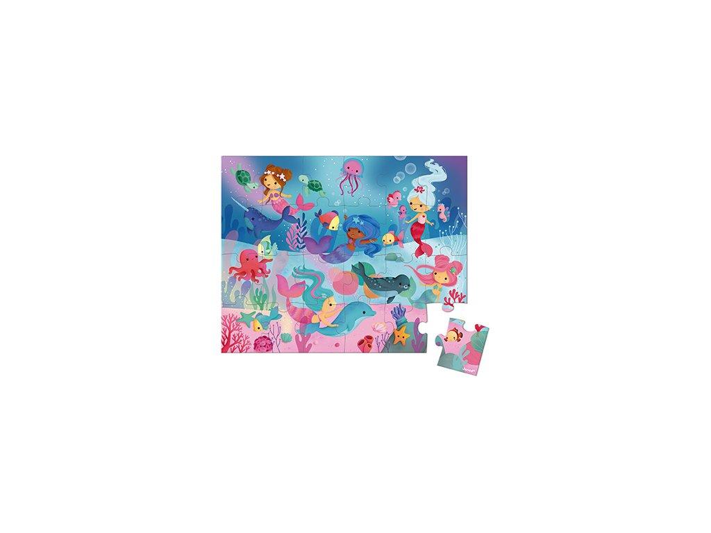 J02683 Janod Puzzle Morske vily v kufriku 24 ks 1