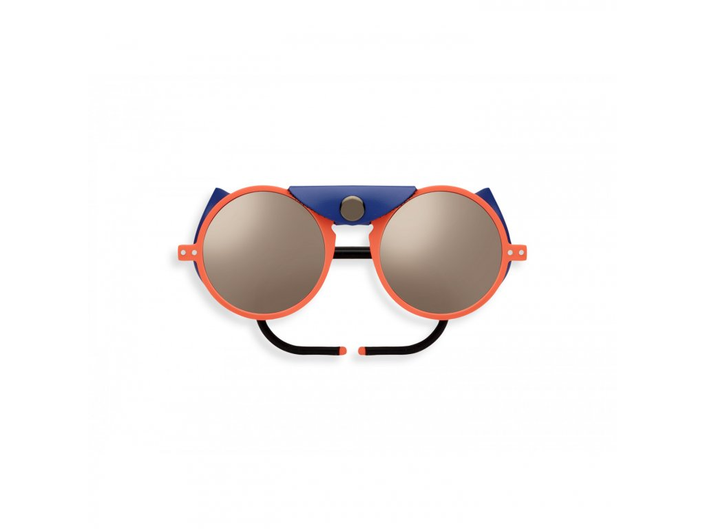 sun glacier orange neon sunglasses mountain