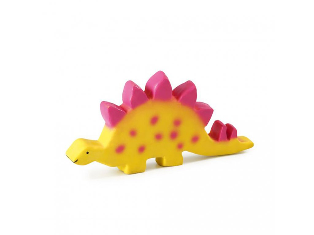 Tikiri Baby Dinosaurus z prirodnej gumy stegosaurus